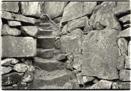 Abandoned quarry building, Stanton Moor, Derbyshire