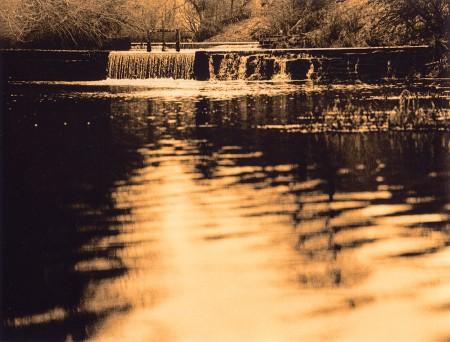Weir, Lathkill Dale, Derbyshire