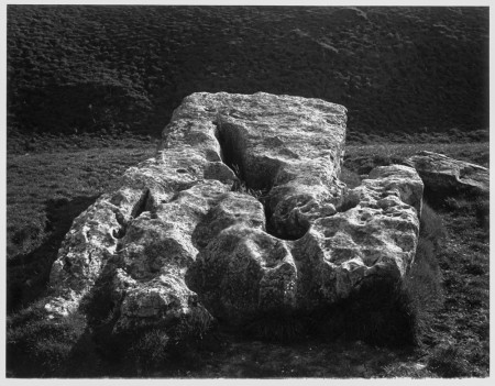 My photograph of Arbor Low, negative : 1981; print : 2012.