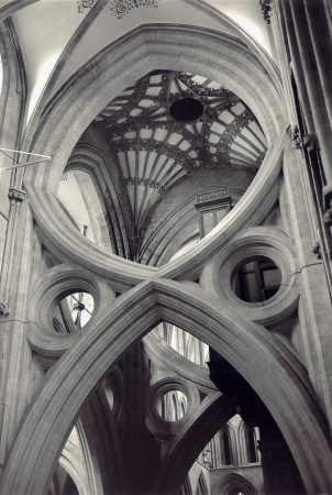 Wells Cathedral, the scissor arch