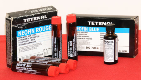 Tetenal Neofin Red and Blue
